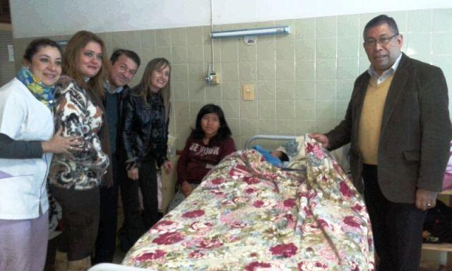 Entregaron donaciones al sector de Obstetricia- Pediatría del Hospital Samic Eldorado
