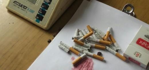Quiso llevar droga disimulada en una caja de cigarrillos a un preso y lo descubrieron