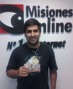 El ganador de las entradas para el partido de Crucero vs Guaraní