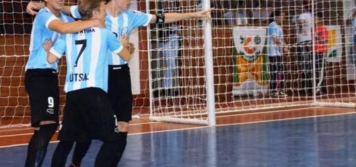 Futsal: Argentina goleó a Curazao y hoy en cuartos enfrenta a Cataluña