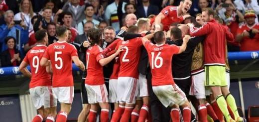 Eurocopa: Gales se clasificó a semifinales y va por Portugal