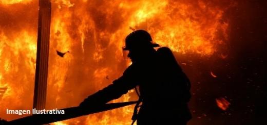 Un incendio destruyó totalmente una vivienda