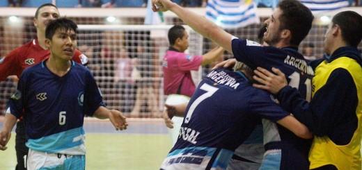 Futsal: Vea los goles del triunfo 7 a 1 de Argentina ante Uruguay en el Mundial C17