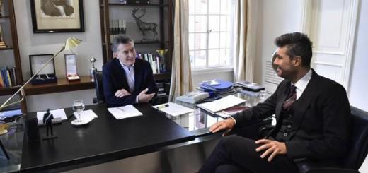 Reunión cumbre: Mauricio Macri recibió a Marcelo Tinelli en Olivos