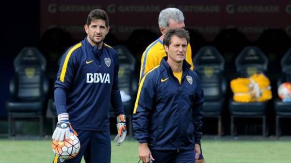 """Barros Schelotto habló sobre la salida del «Cata» Díaz y apuntó contra Orion: """"El sólo hecho de ser parte de Boca te tiene que motivar"""""""