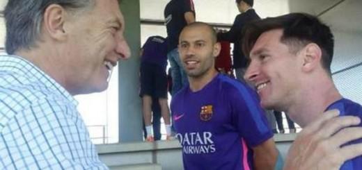 Macri contó los detalles de su charla con Messi