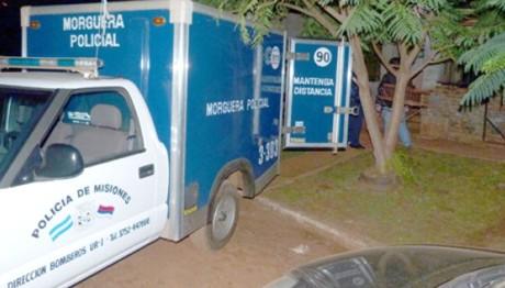 Estrangularon a una mujer en San Vicente y detuvieron a su pareja