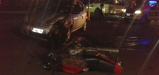 Otro más y van....: motociclista herido en un choque en Posadas