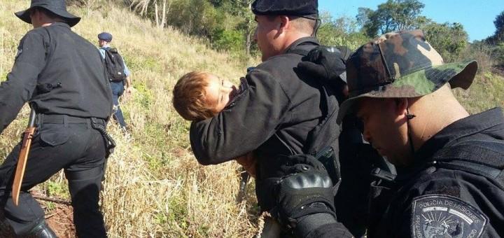 Confirman que está estable el niño que se perdió y pasó dos días solo en el monte