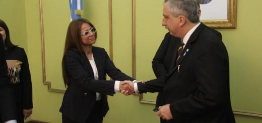 Passalacqua tomó juramento a Fabiola Bianco como titular del Tribunal de Cuentas