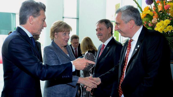 Passalacqua dijo que el objetivo de la gira por Europa con Macri fue «trabajar en conjunto»