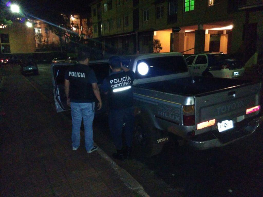Recuperaron en Eldorado una camioneta que había sido robada en Jardín América