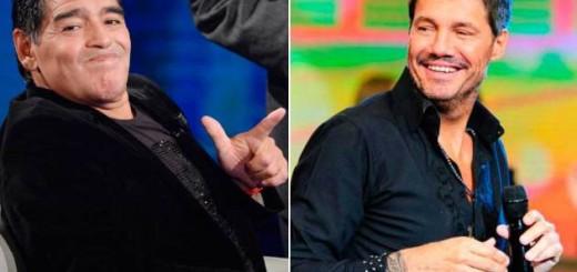 """Diego Maradona también le pegó a Marcelo Tinelli: """"A ese gil le di de comer y..."""""""