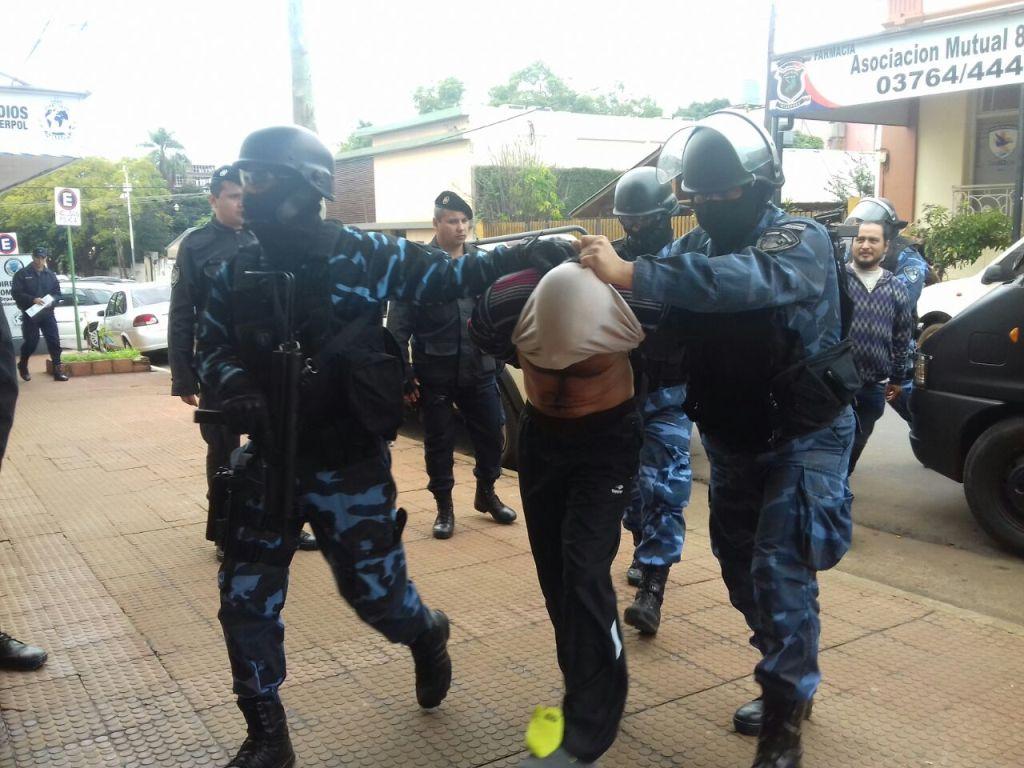 Capturaron en Posadas al preso que habían liberado por error en Loreto