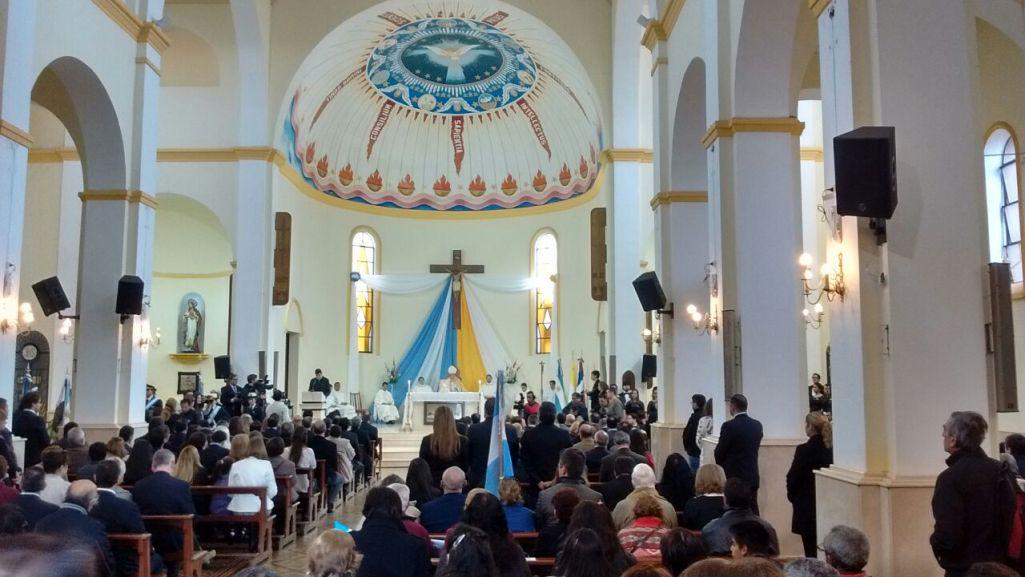 """Tedeum de la Independencia: """"Tenemos que discernir los contenidos de la globalización para no mimetizarnos», dijo el obispo Martínez"""