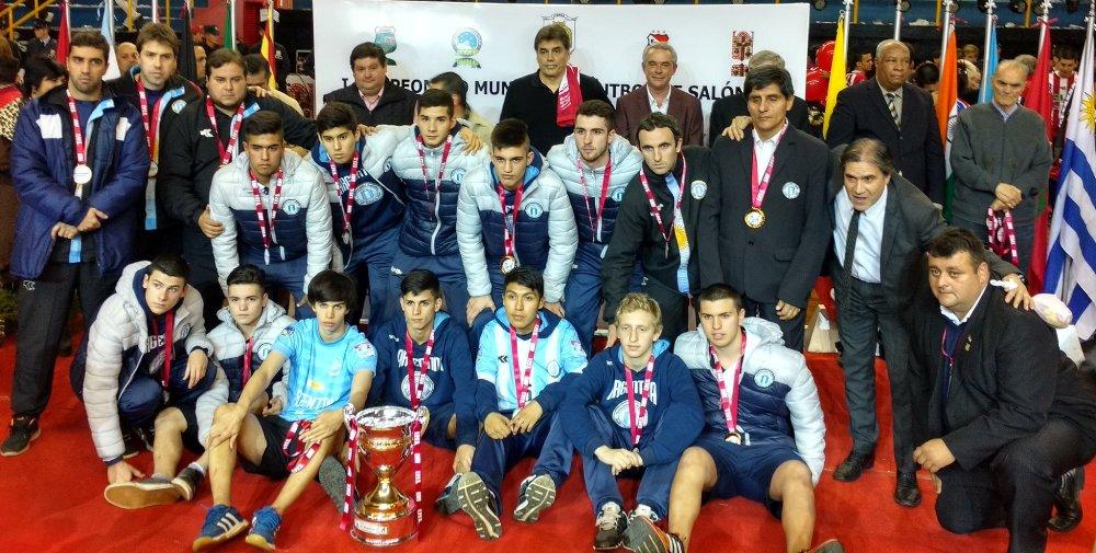 Futsal: Argentina goleó, fue tercera y Colombia le amargó la fiesta a Paraguay