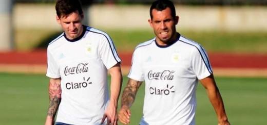 """Carlos Tévez: """"Messi renuncia por el lío que hay en la AFA"""""""