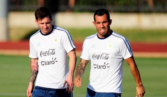 Carlos Tévez: «Messi renuncia por el lío que hay en la AFA»