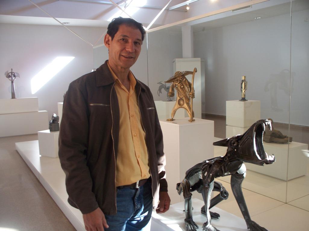 Gerónimo Rodríguez vuelve con nueva muestra de esculturas en el museo Aníbal Cambas