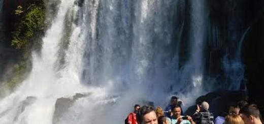 Mientras buscan al puma, más de 2.300 personas disfrutaron de las Cataratas del Iguazú