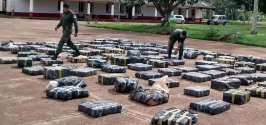 Incautan más de 4.000 kilos de marihuana en Cerro Corá