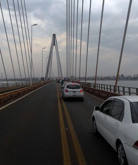 Este fin de semana largo cruzaron 135 mil personas por el puente Posadas-Encarnación