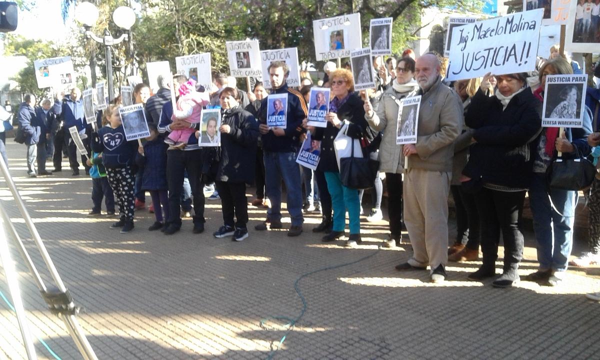 Tuny Warenycia: «Queremos que los jueces sientan nuestro dolor»