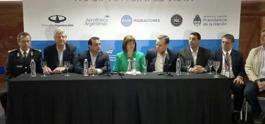 Bullrich anunció en Iguazú una capacitación para prevenir la trata de personas