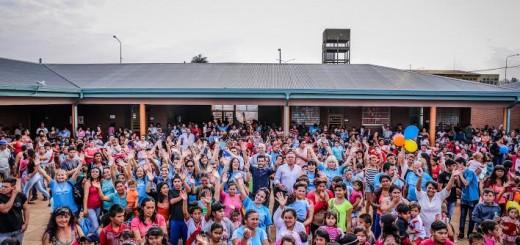 "Cuarta jornada de ""Barrio feliz"" en el barrio Nestor Kirchner"