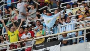 """""""Operativo calma"""": la Argentina y Brasil buscan acercar a sus hinchas y bajar la temperatura en los Juegos Olímpicos de Río 2016"""