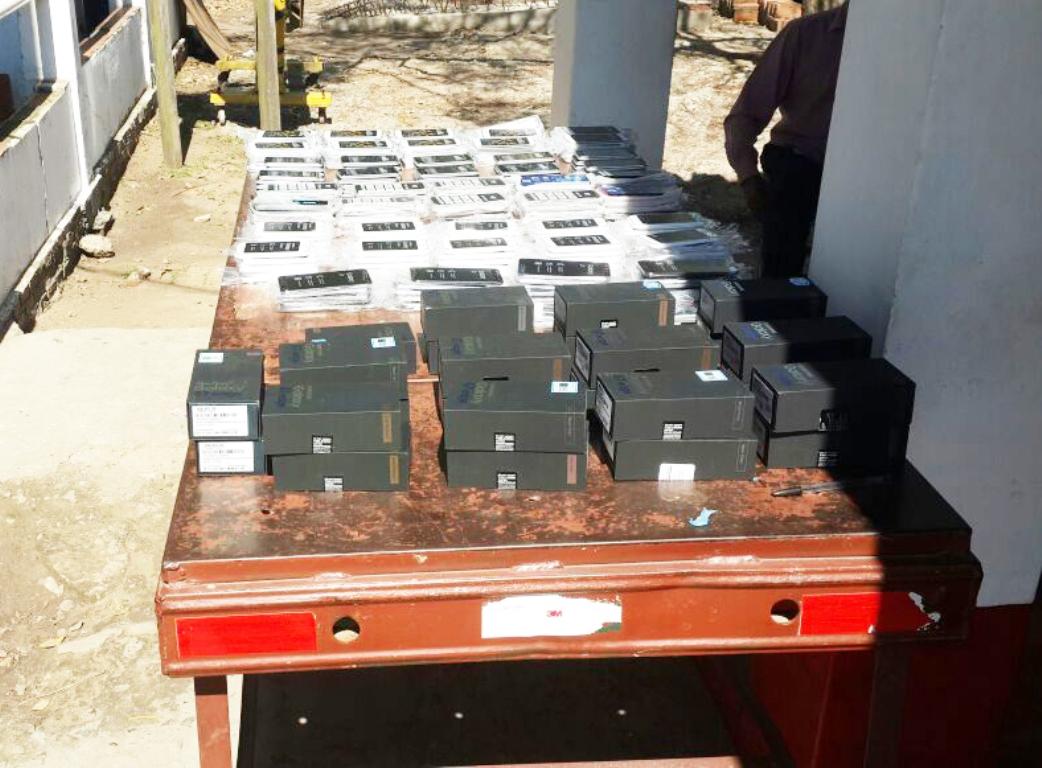 Interceptan carga de celulares valuada en más de un millón de pesos que traían para Posadas