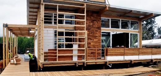Construir su casa con madera ahorra al ambiente, el CO2 producido por un automóvil en 12 años