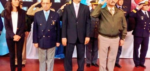 El intendente Losada destacó los valores del General San Martín