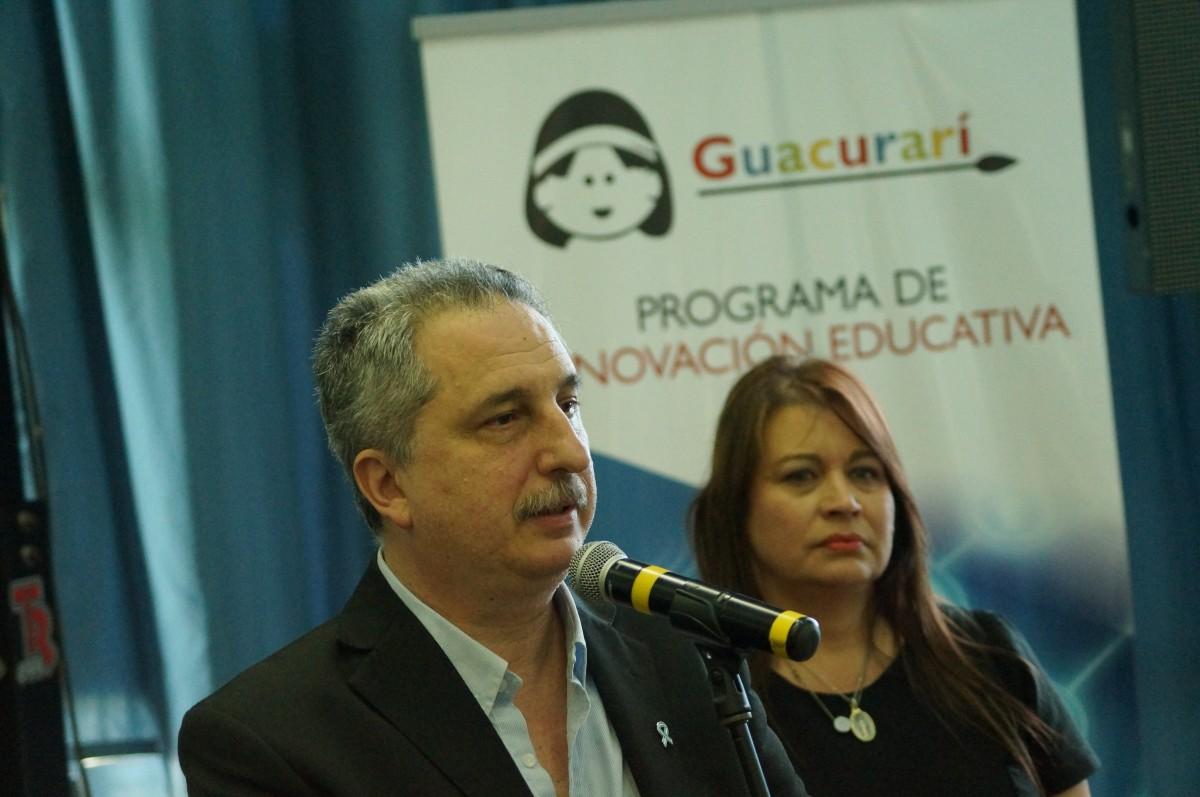 Passalacqua presentó la plataforma Guacurarí en el Parquedel Conocimiento