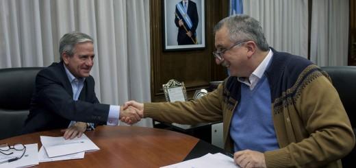 Passalacqua adhirió a Misiones al Plan Nacional de modernización del Estado