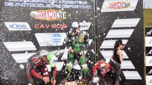 """SúperBike: El """"Chake"""" Cidade dejó a Rosamonte Racing Team en lo más alto"""