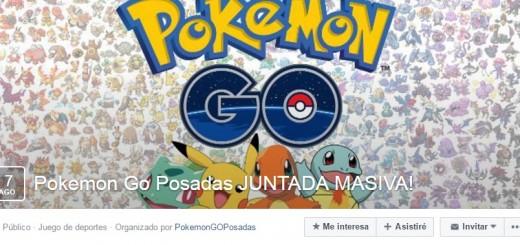 Promueven una juntada masiva para jugar Pokémon Go en Posadas