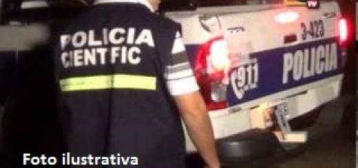 Choque fatal en San Vicente: identificaron al motociclista que chocó y mató a un peatón