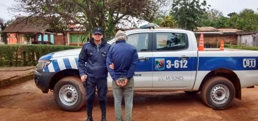 Incumplió una orden de no acercarse a su ex y fue detenido en San Ignacio