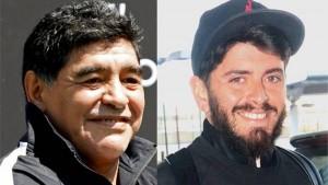 """""""Sos mi hijo"""", fue la frase que selló el encuentro entre Maradona y Diego Junior"""