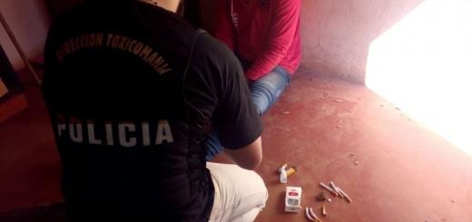 Atraparon in fraganti a un presunto vendedor de marihuana en Puerto Iguazú