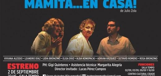 """El grupo de teatro Sin Remedio estrena """"Mamita… en casa!"""""""