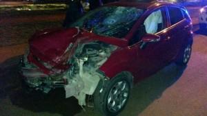Habría estado corriendo una picada el que chocó y mató al motociclista en la ex ruta 213