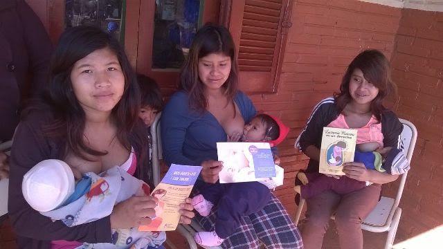 Con una exitosa participación finalizó la semana destinada a promocionar la lactancia materna como recurso sostenible