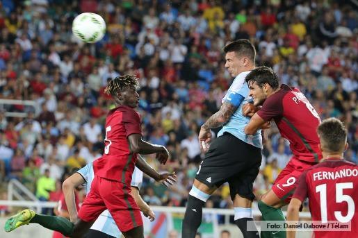 Decepcionante debut olímpico de la selección: cayó 2 a 0 con Portugal