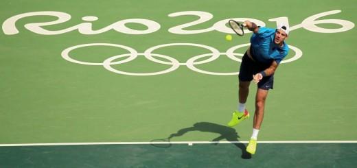 Del Potro y González avanzaron en el dobles masculino