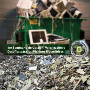 Hoy, el Seminario de Gestión y Desafíos de Residuos Electrónicos en La Estación Vía Cultural