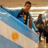 Jony Avellaneda se instaló en Londres para competir en el mundial de Atletismo adaptado