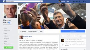 """""""Sin salud, todo lo demás no importa""""; la carta de Macri en facebook"""