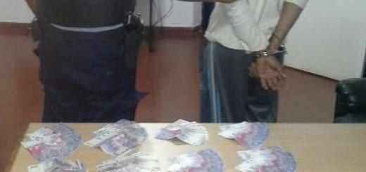 Preso por robarle plata y cheques a su concuñado en San Vicente